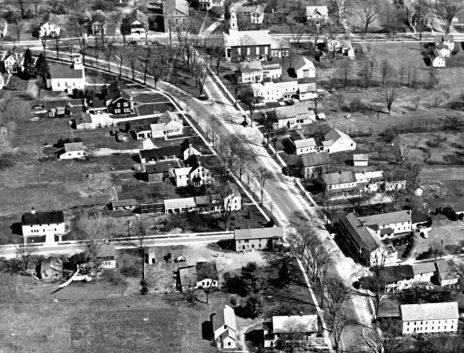 mont. ctr. aerial c1940s