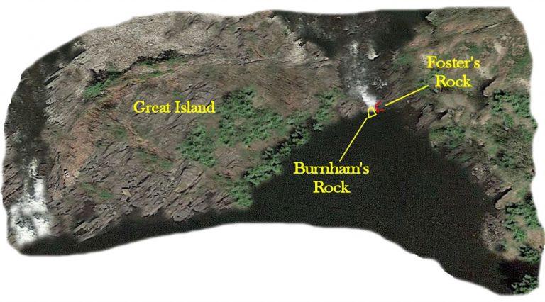 Where IS Burnham's Rock?